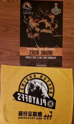 2019 Boston Bruins Stanley Cup Finals Rally Towel Game 7 St