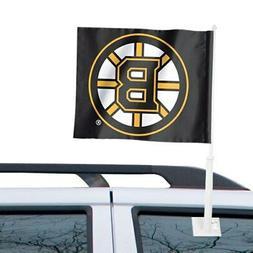 "Boston Bruins WinCraft 11"" x 13"" Two-Sided Car Flag"