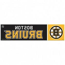 Boston Bruins Bumper Sticker NEW!! 3 x 11 Inches Free Shippi