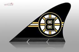 Boston Bruins Car Flag, CARFIN  Magnetic Car Flag.