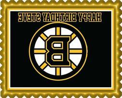 Boston Bruins - Edible Cake Topper OR Cupcake Topper, Decor
