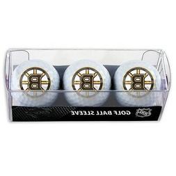 Boston Bruins Golf Balls 3 Pack