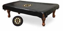 Boston Bruins HBS Black Vinyl Billiard Pool Table Cover