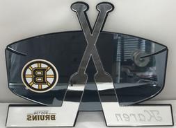 Boston Bruins Hockey NHL Wall Decor Personalize Wall Hanging