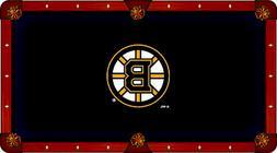 Boston Bruins Holland Bar Stool Co. Black Billiard Pool Tabl