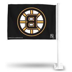 Boston Bruins NHL 11X14 Window Mount 2-Sided Car Flag