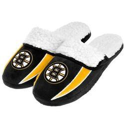 Boston Bruins NHL 2013 Men's Sherpa Slide Slippers