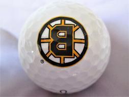 Boston Bruins NHL Logo Golf Ball - Mint Condition