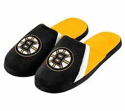 Boston Bruins NHL Mens Big Logo Slide Slippers/Sandals/Shoes