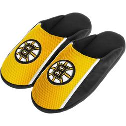 Boston Bruins NHL Mens Team Logo Jersey Slide Slippers/Sanda