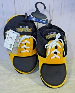 Boston Bruins NHL Sneaker Slippers Large