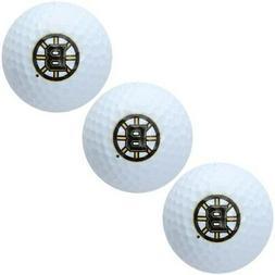 Boston Bruins Pack of 3 Golf Balls