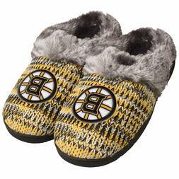 Boston Bruins Slippers Logo NEW Womens Slide House shoes! Pe
