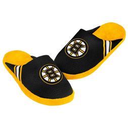 Boston Bruins Youth Jersey Mesh SLIDE SLIPPERS New - FREE U.
