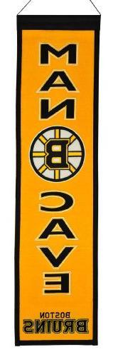 NHL Boston Bruins Man Cave Banner