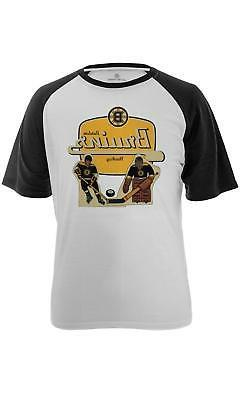 Levelwear NHL Boston Bruins Men's Table Top Tee, Small, Whit