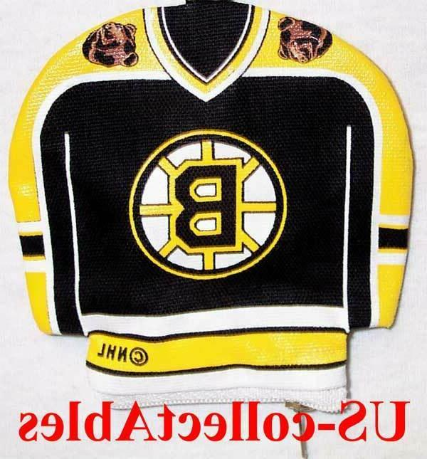 nhl hockey boston bruins jersey money pouch