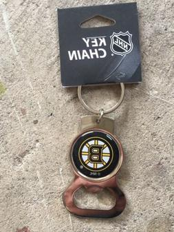 Lot Of 6 Boston Bruins Official Keychains/bottle Openers