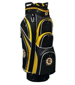 New - NHL Boston Bruins Cart Golf Bag - 14-Way dividers