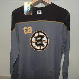 NHL Boston Bruins #63 Cotton Hockey Jersey Shirt New Mens LA