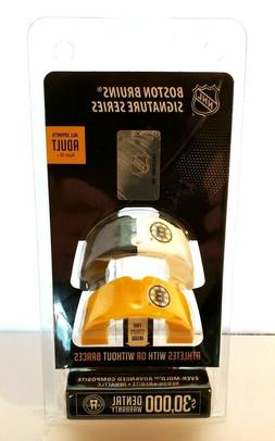 NHL Boston Bruins Adult All Sport Mouth Guard 2 Pack With St