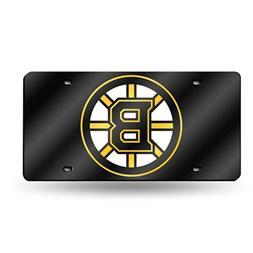 NHL Boston Bruins Laser Cut License Plate