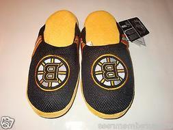 NHL Boston Bruins Team Jersey Indoor/Outdoor Slippers ~ Size