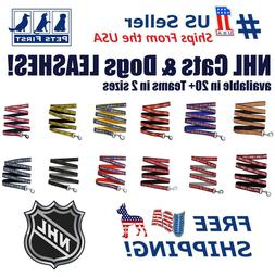 Pets First NHL Leash! Licensed, Heavy-duty, Strong, Durable