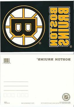 NHL Official Postcard - Boston Bruins Team Logo