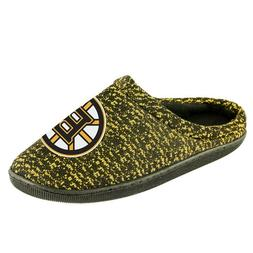 NHL Poly knit Cup Sole Slide Slippers Boston Bruins NEW