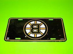 USA CANADA NHL HOCKEY TEAM BOSTON BRUINS METAL LICENSE PLATE